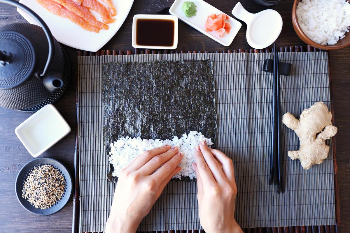 Grundrezept für Sushi-Reis