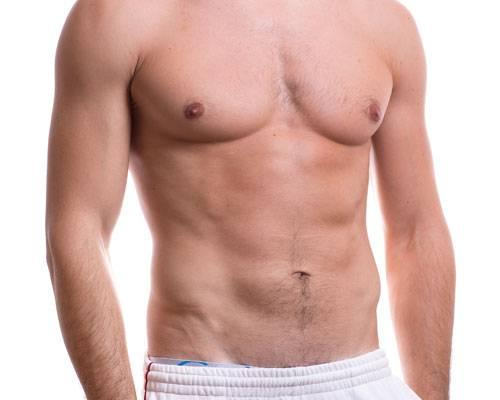 Männliche Brust