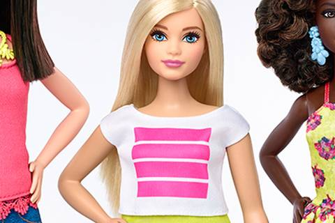 Die neue Barbie hat Bauch und Hüften