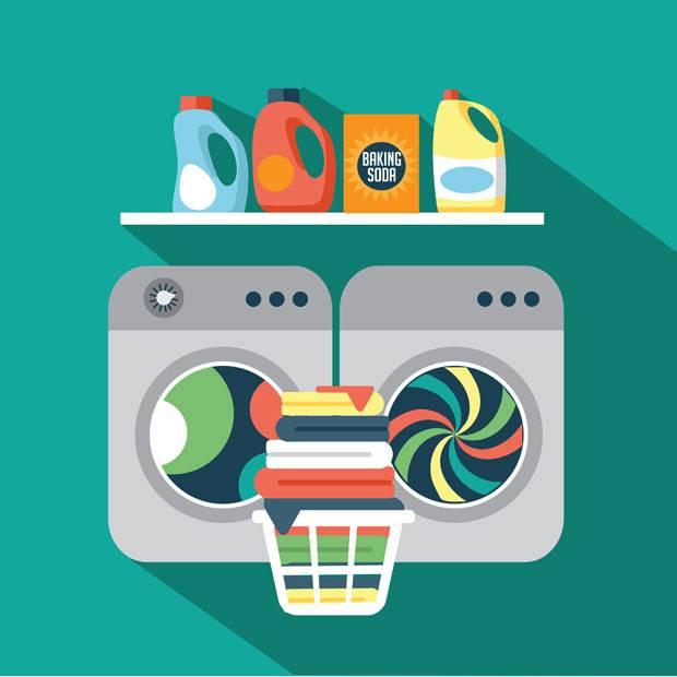 Wer seine Wäsche im Trockner trocknet, kann meist aufs Bügeln verzichten.