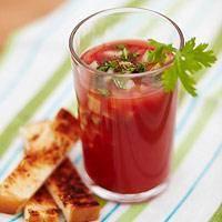 Gazpacho und Co.: Kalte Suppe für den Sommer