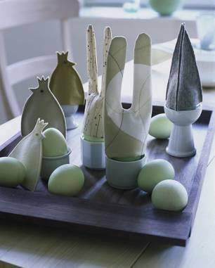 Eierwärmer mit Hasenohren