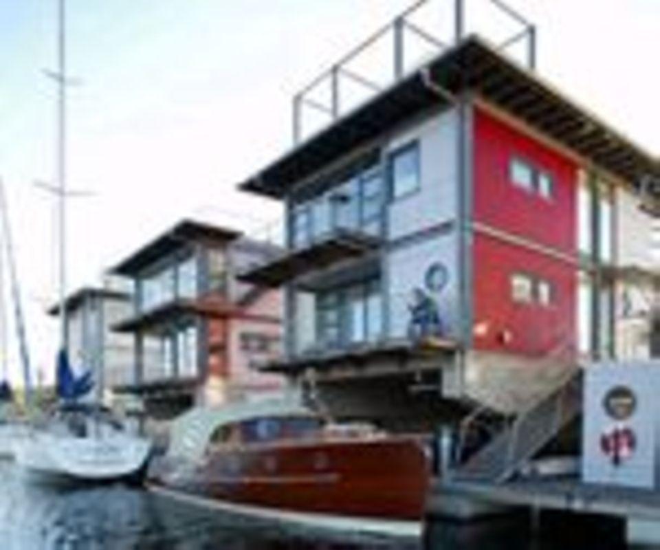 Villa auf dem Wasser