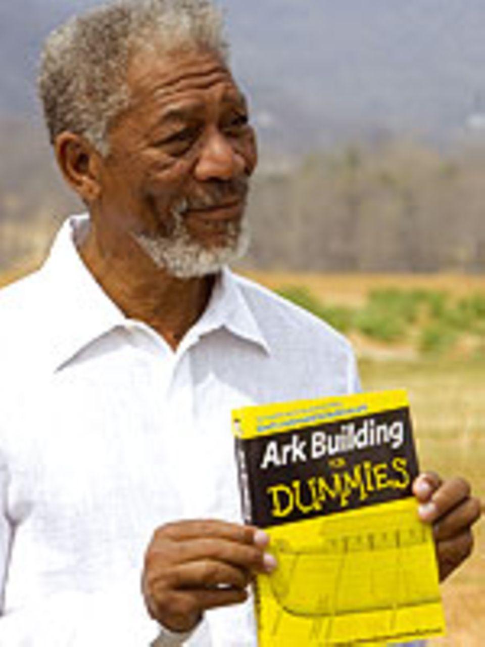 "Morgan Freeman als Gott in ""Evan Allmächtig"""