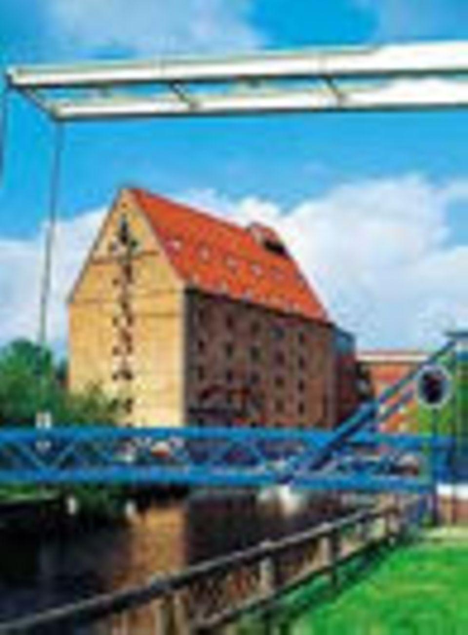 Das SORAT Hotel Humboldt-Mühle Berlin im Getreidespeicher.