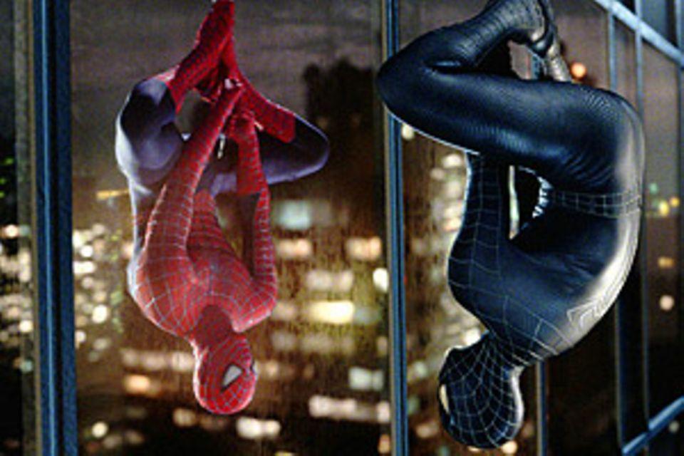Spider-Mans dunkle Seite