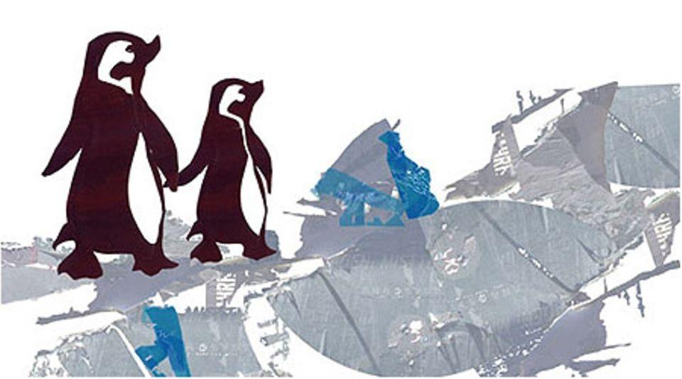 Pinguine, Tiger und die Kunst