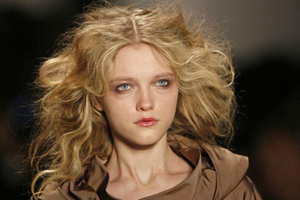 Trendfrisuren 2008/2009: der Hippie-Look