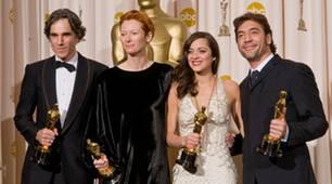Daniel Day-Lewis, Marion Cotillard, Tilda Swinton und Javier Bardem