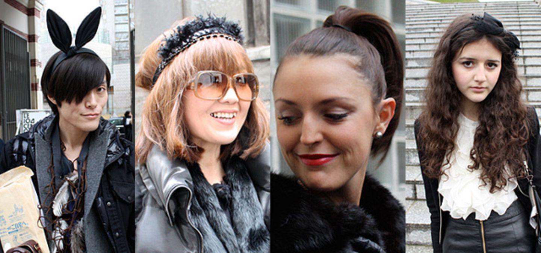 Streetstyle Frisuren: Die Trends aus Paris