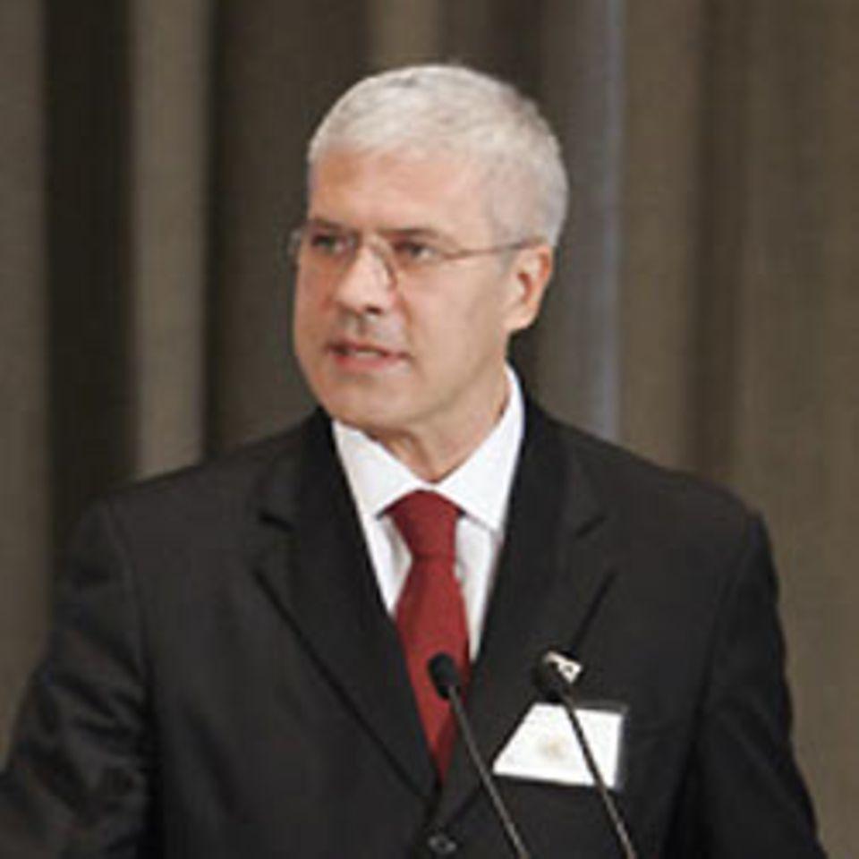 Der serbische Präsident Boris Tadic
