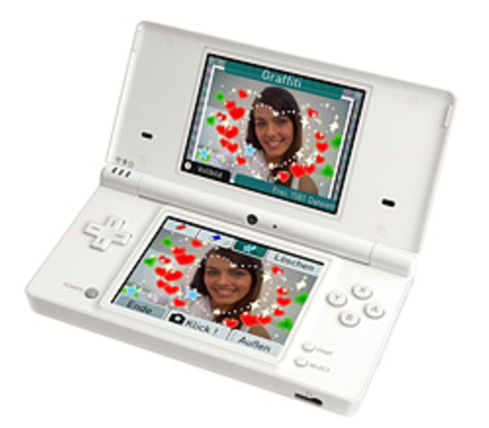 Der neue Handheld: Nintendo DSi