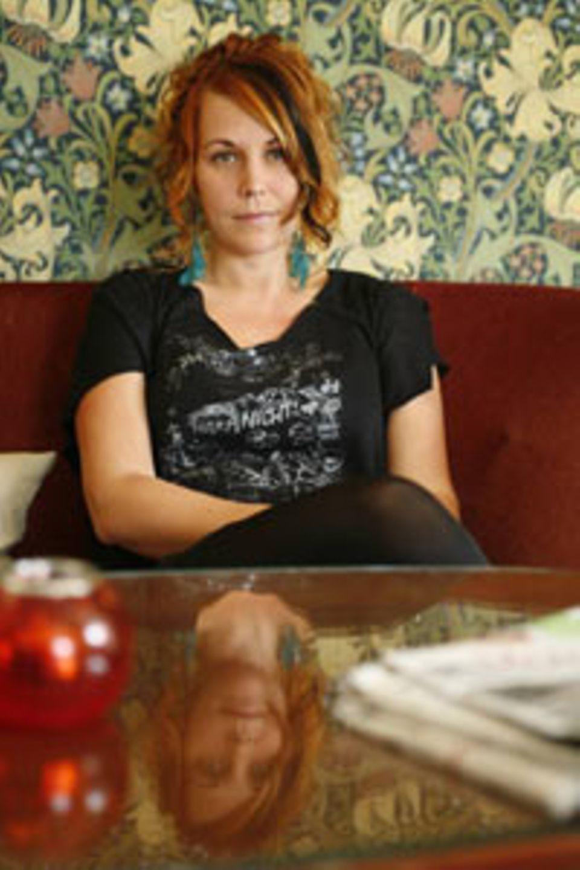 """Maria Sveland schrieb mit """"Bitterfotze"""" den schwedischen Bestseller des Jahres."""