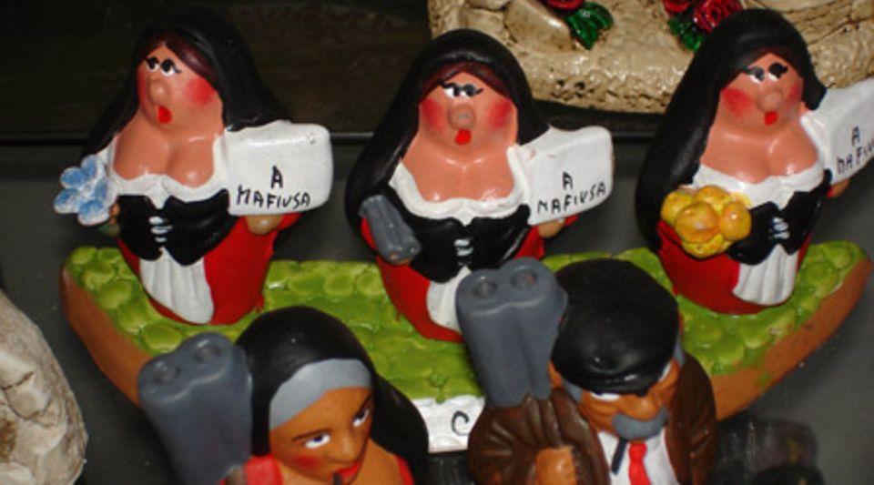 Touristisches Mafia-Highlight: Kitschige Souvenirs aus Palermo