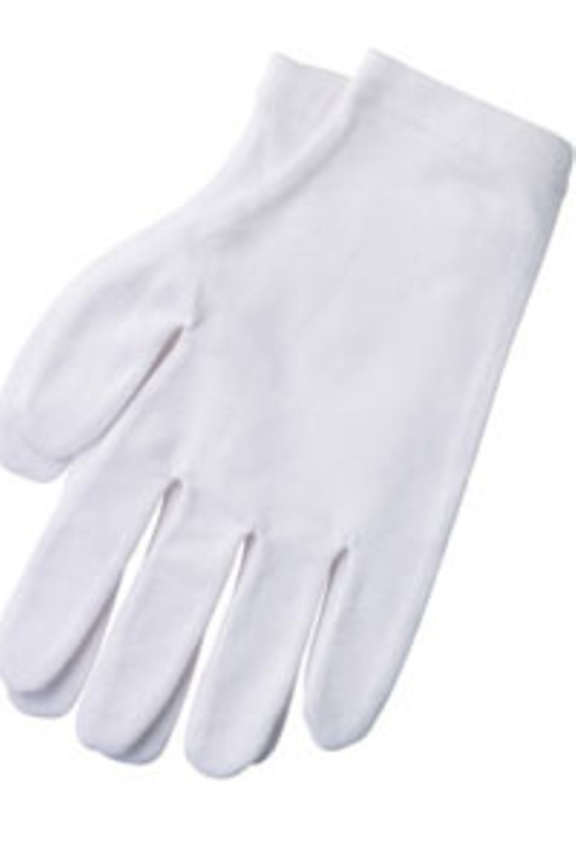 Spezielle Handschuhe von The Body Shop
