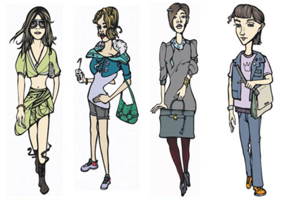 Alles reine Typsache - auch die Handtasche!