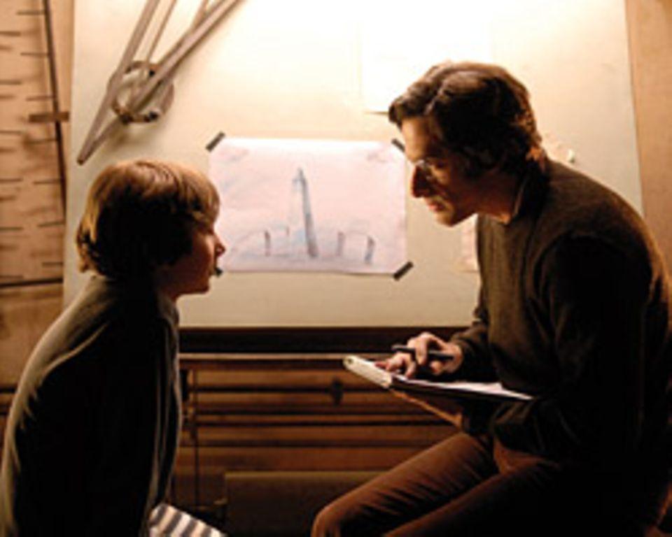 ... und der junge Alex mit seinem Vater