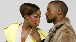 Estelle und Kanye West