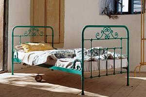 """Türkis wie das Mittelmeer - Bett """"Genua"""" für ca. 398 Euro von www.octopus-versand.de"""