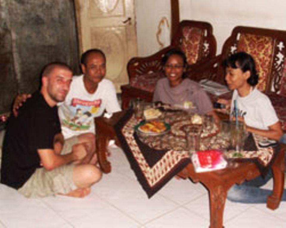 Zu Gast in Yogyakarta