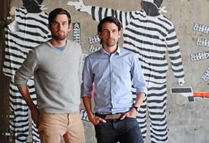 Daniel und Markus Freitag (v.l.) sind die kreativen Köpfe hinter den Freitag-Taschen