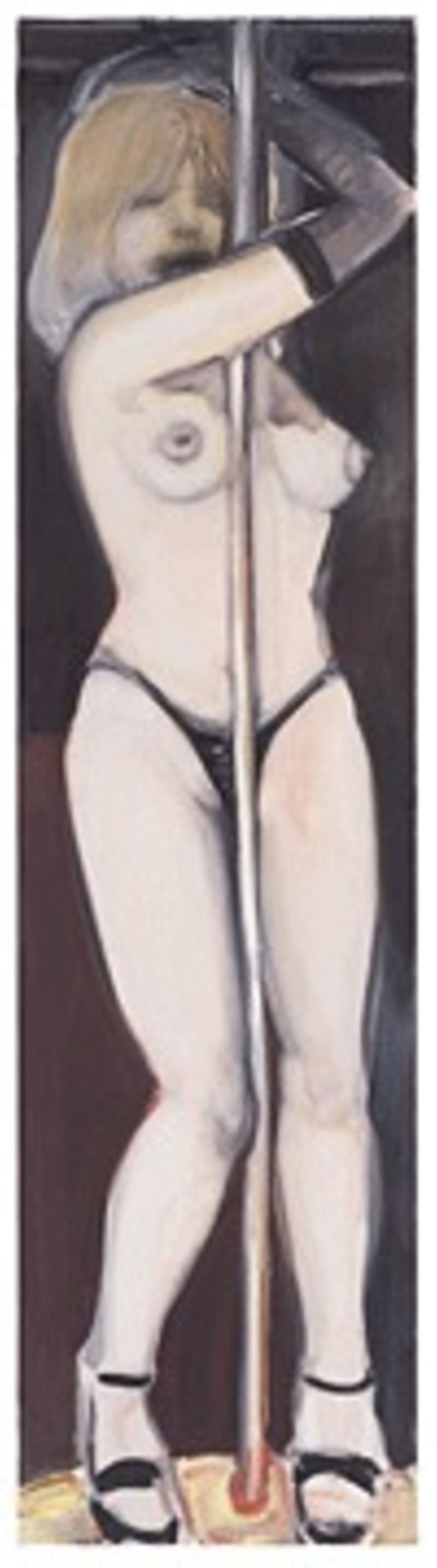 Marlene Dumas: Caressing the Pole (2000)
