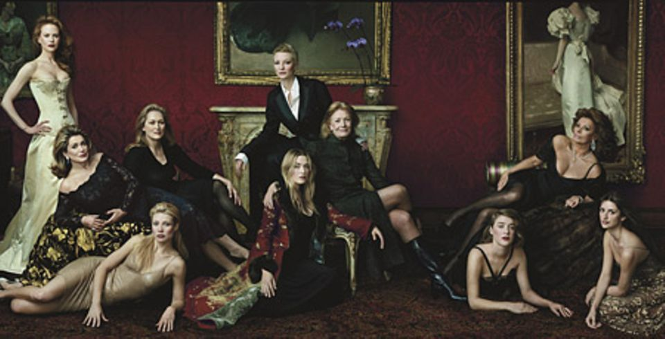 Legends of Hollywood by Annie Leibovitz - Vanity Fair, April 2001