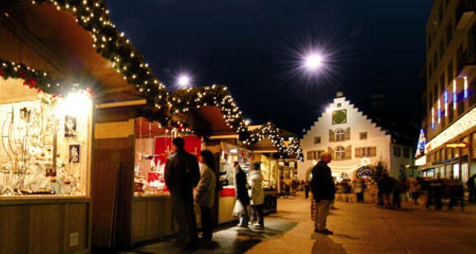 Der Weihnachtsmarkt in St. Gallen