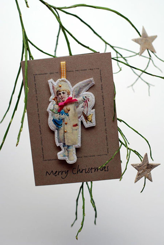 Weihnachtliche Grüße - wunderschön verpackt!