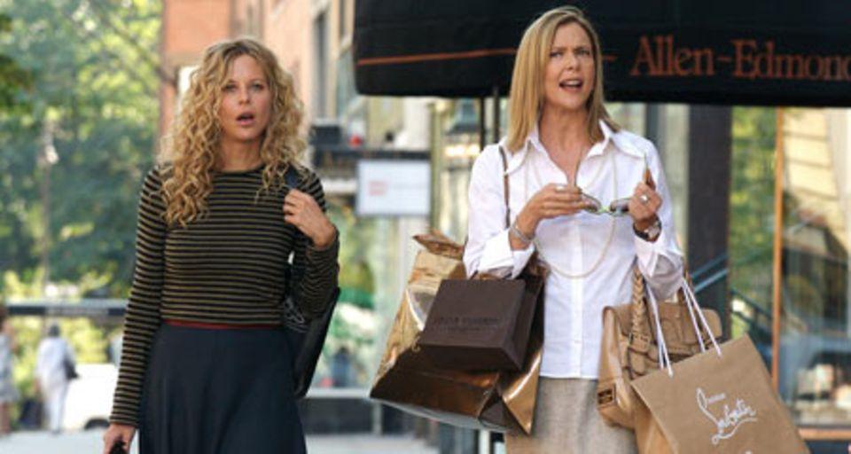 The Women: Mary (Meg Ryan) und Sylvie (Annette Bening) auf Shoppingtour