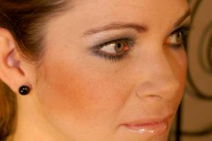 Party-Make-Up: Smokey Eyes: Party-Make-Up: Smokey Eyes