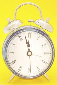 Bei Referaten immer die Uhr im Auge behalten!