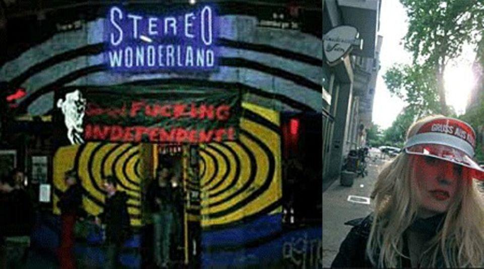 Das Stereo Wonderland (links) und Suzi vor dem Hallmackenreuther