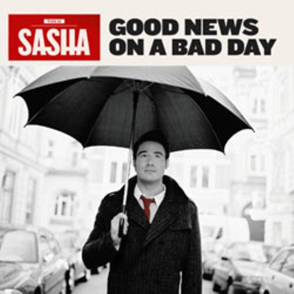 """Sashas neues Album """"Good News on a Bad Day"""" erscheint am 27. Februar."""