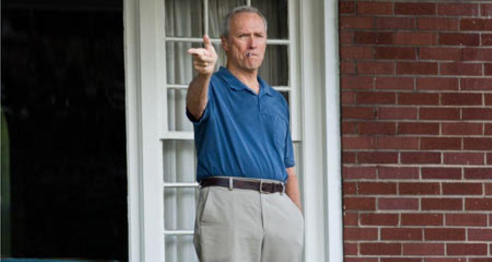 Clint Eastwood spielt den verbitterten Kriegsveteranen Walt Kowalski