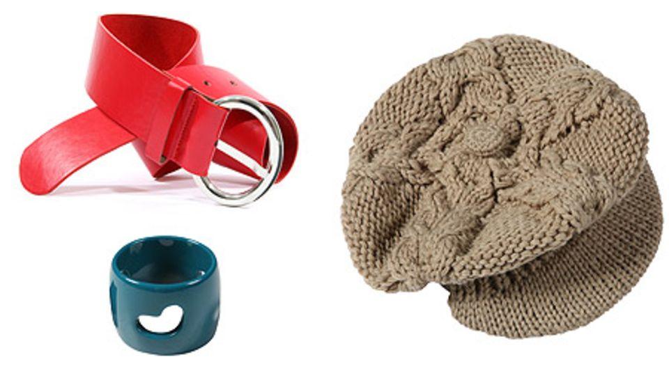 Heiße Winter-Accessoires