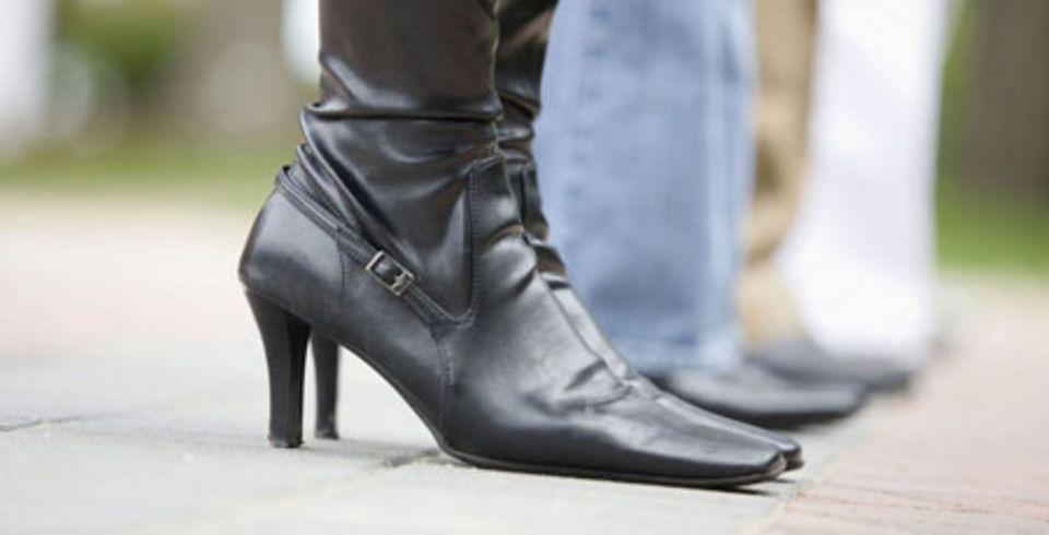 Schuhe: Leder oder Synthetik?