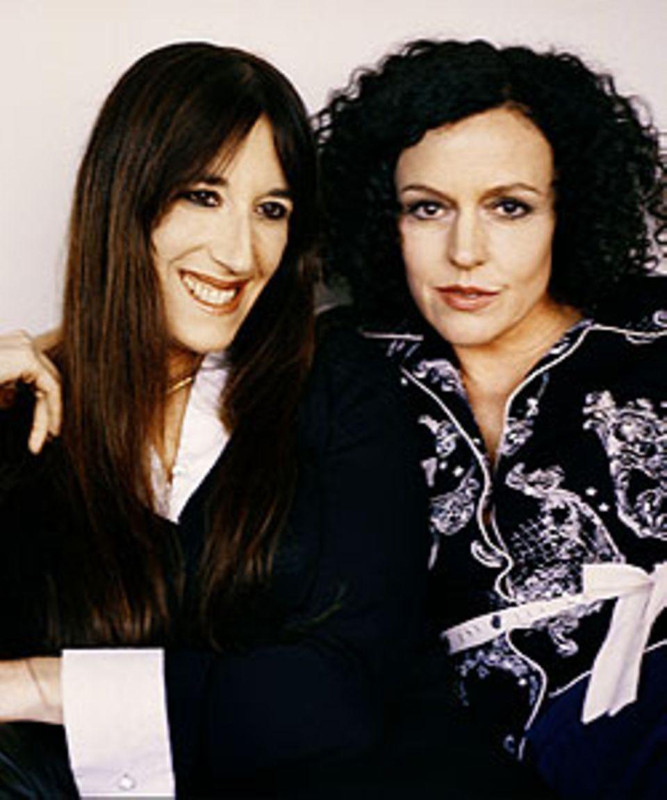 Zeruya Shalev und Maria Schrader