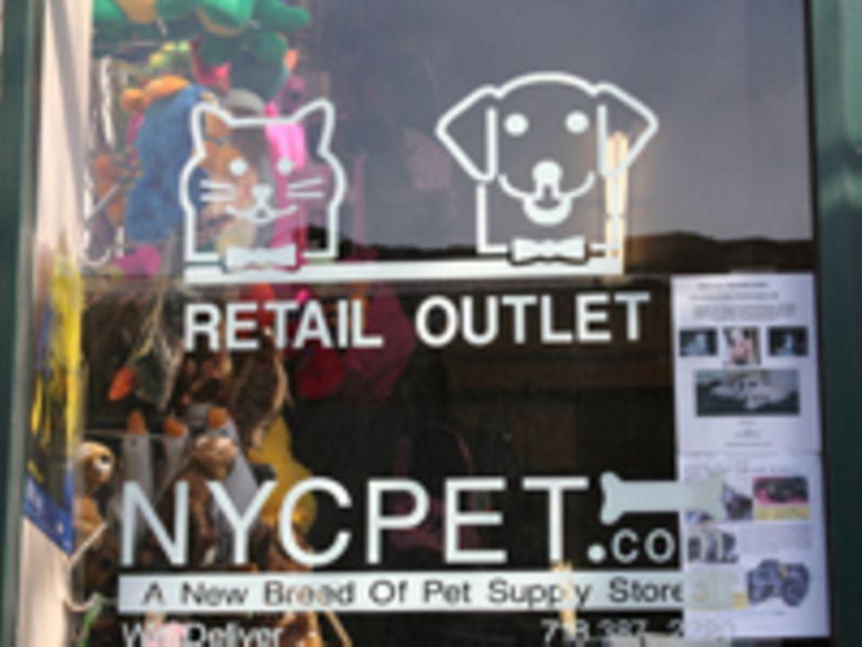 NYC Pet Retail Outlet an der Bedford Avenue