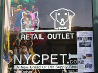 NYC Pet Retail Outlet an der Bedford Avenue