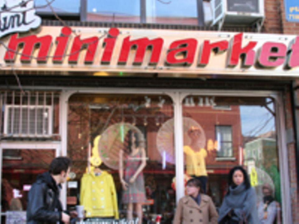 Der Minimarket an der Bedford Avenue
