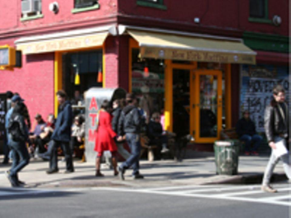 New York Muffins, Bedford Ave. Ecke N 6 St.