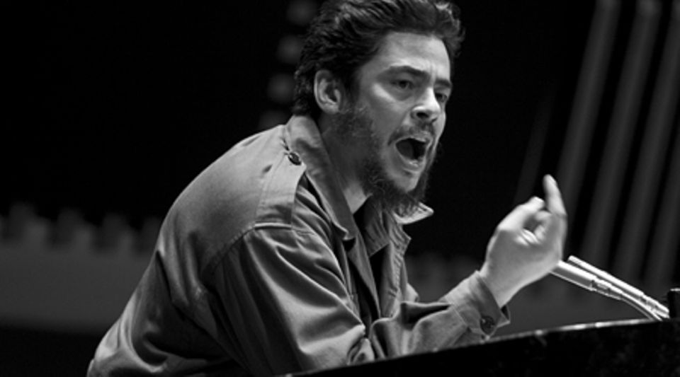 Che Guevara (Benicio del Toro) bei seiner Rede vor den Vereinten Nationen in New York