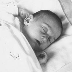 Anne Frank als Baby 1929