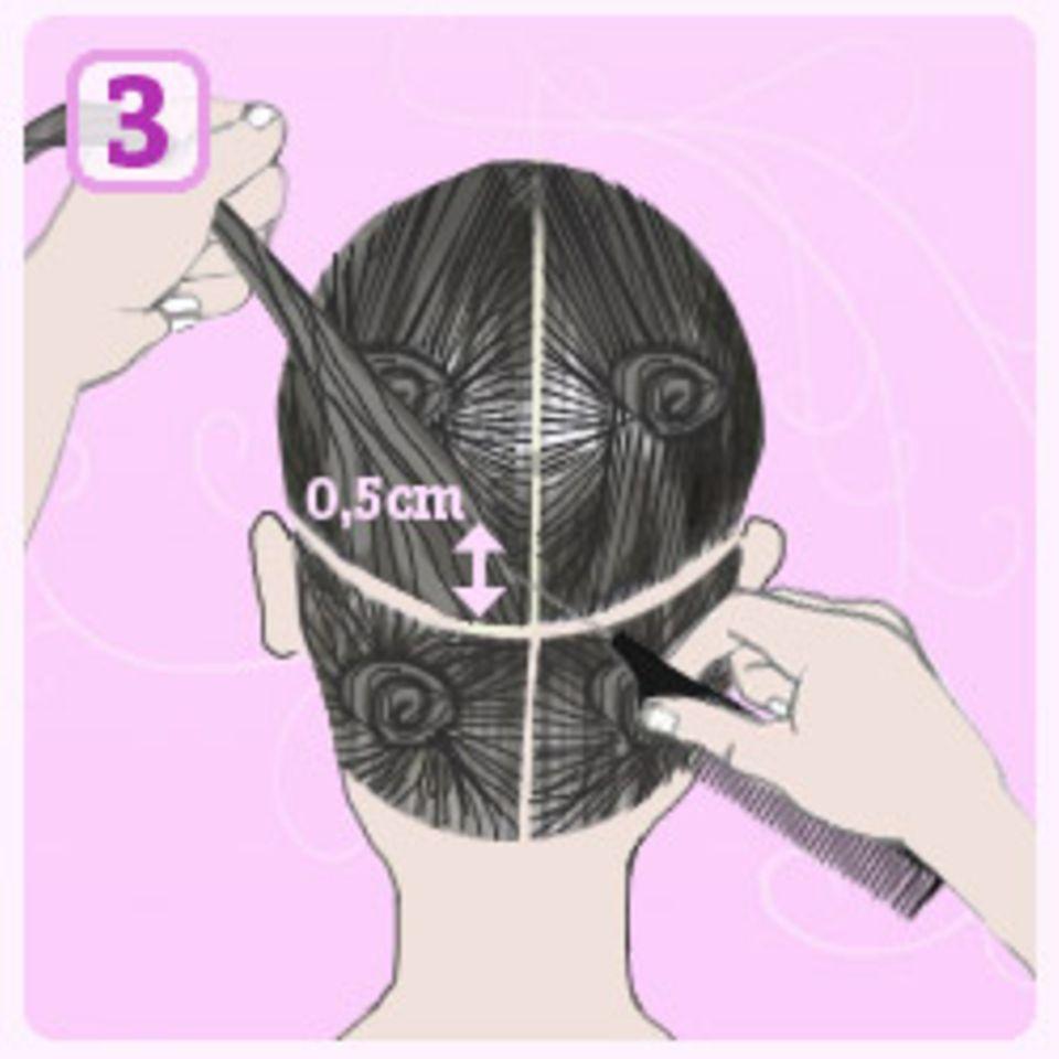Haare selber färben: Foliensträhnchen