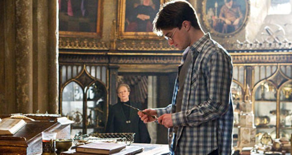 Harry (Daniel Radcliffe) bereitet sich auf den Kampf gegen Voldemort vor