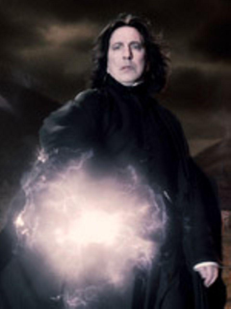 Gehört Professor Severus Snape (Alan Rickman) zu Voldemorts Anhängern?