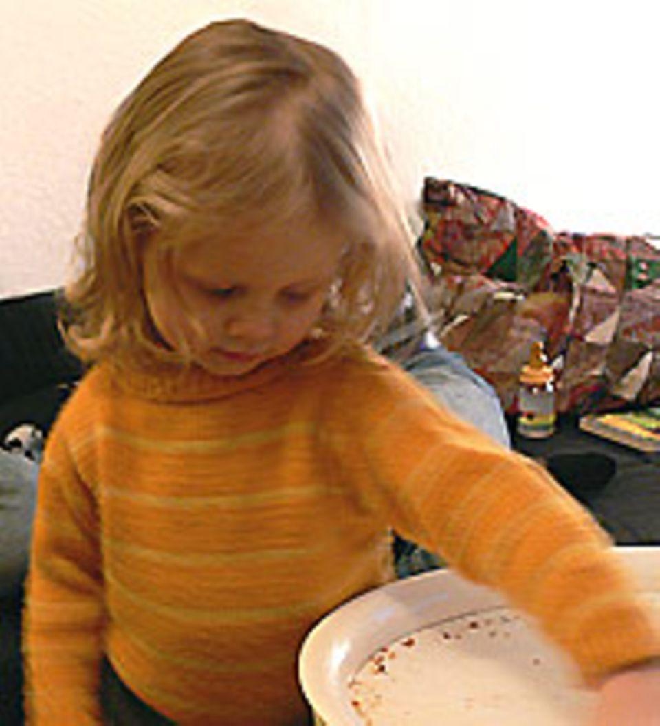 Seit sie ein Jahr alt ist, geht Lucia in den Uni-Kindergarten.