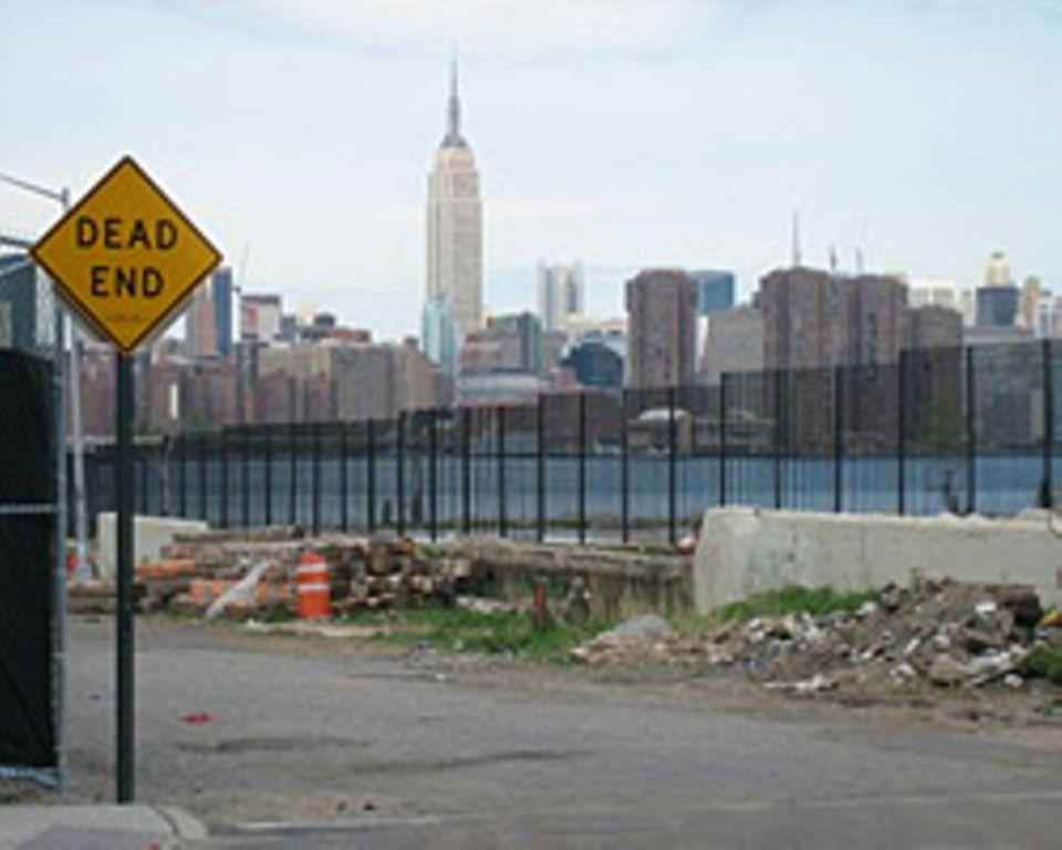 Blick auf Manhattan und das Empire State Building