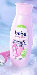 Shower & Shave Cream (250 ml ca. 1,99 Euro)